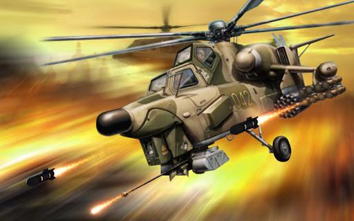 Army Gunship Helicopter Games 3D: Joycity Battle screenshot 14