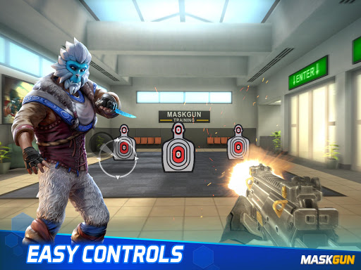 MaskGun Multiplayer FPS - Free Shooting Game screenshot 12