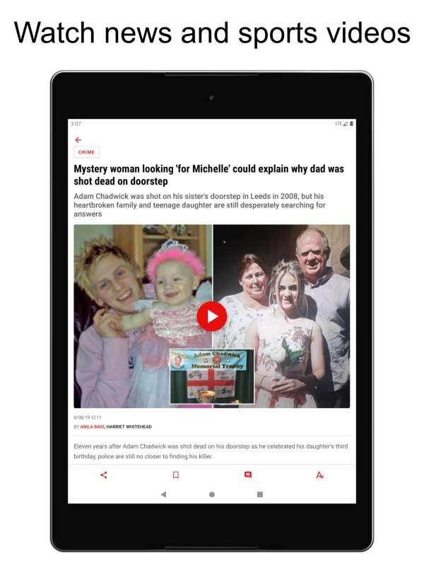 The Mirror App: Daily News screenshot 6