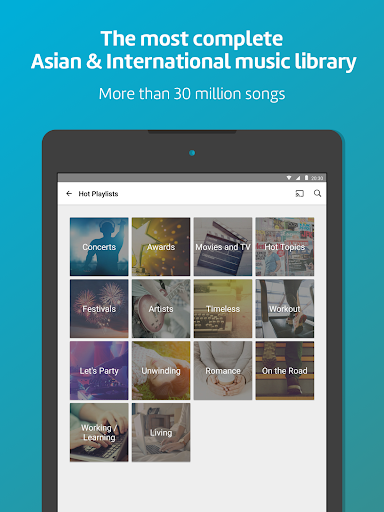 KKBOX - Music and podcasts, anytime, anywhere! 8 تصوير الشاشة