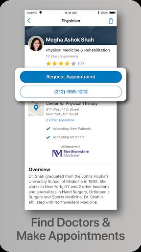 WebMD: Check Symptoms, Rx Savings, & Find Doctors screenshot 4