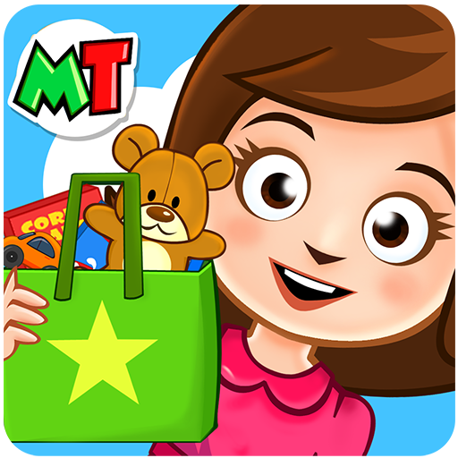 My Town : Stores متاجر أيقونة