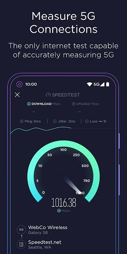 Speedtest от Ookla скриншот 5