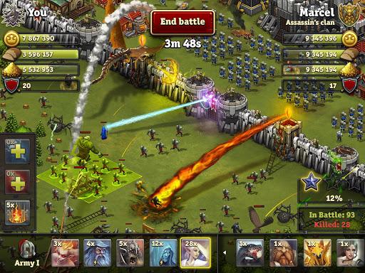 Throne Rush 17 تصوير الشاشة