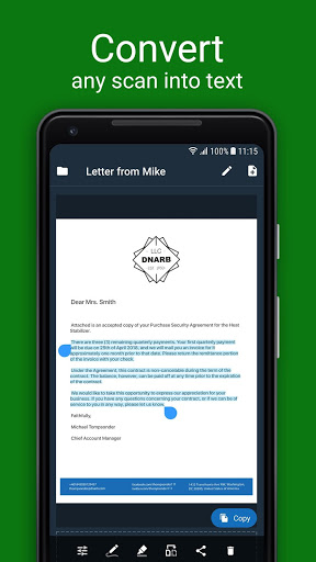 Scanner App for Me: Scan Documents to PDF screenshot 3