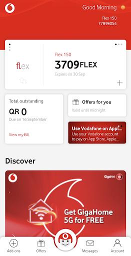 أنا فودافون (قطر) My Vodafone (Qatar) 1 تصوير الشاشة