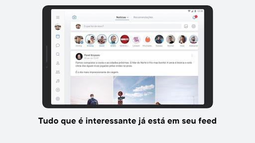 VK — rede social e chamadas screenshot 5