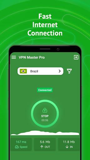 VPN Master Pro - Free & Fast & Secure VPN Proxy screenshot 2