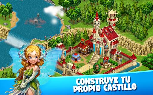 Fairy Kingdom: World of Magic and Castle building screenshot 1