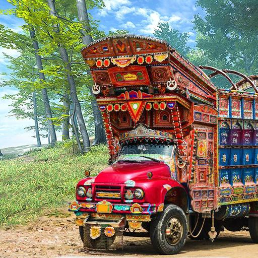 PK Cargo Truck Transport Game 2018 icon
