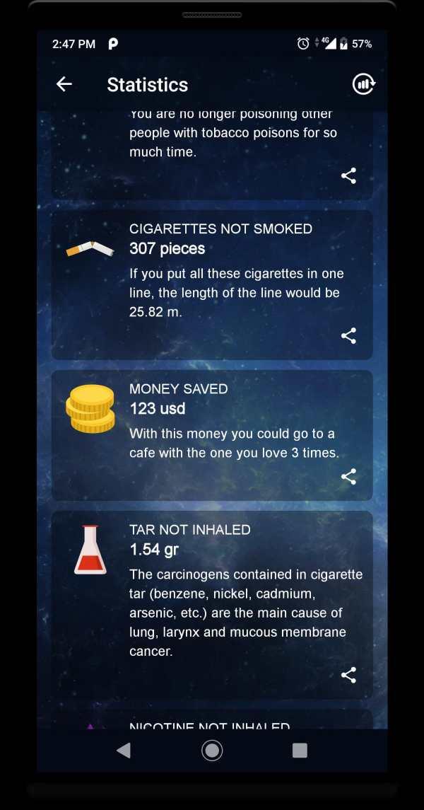 Quit Smoking - Stop Smoking Counter screenshot 3