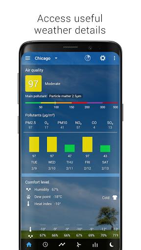 Sense Flip Clock & Weather screenshot 2
