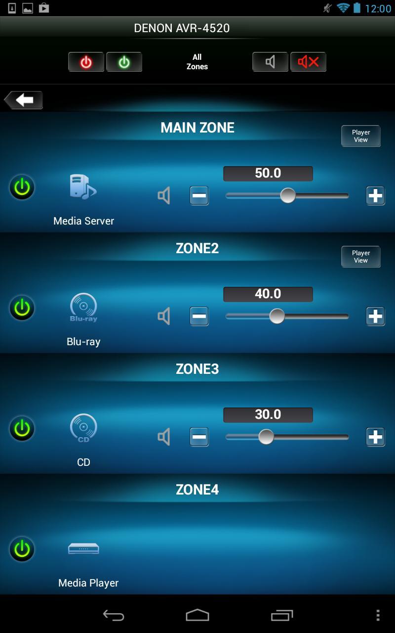 Denon Remote App screenshot 19