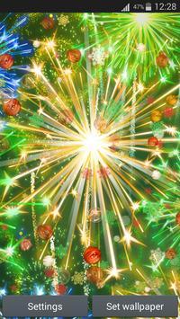 سنة جديدة سعيدة لايف للجدران 4 تصوير الشاشة