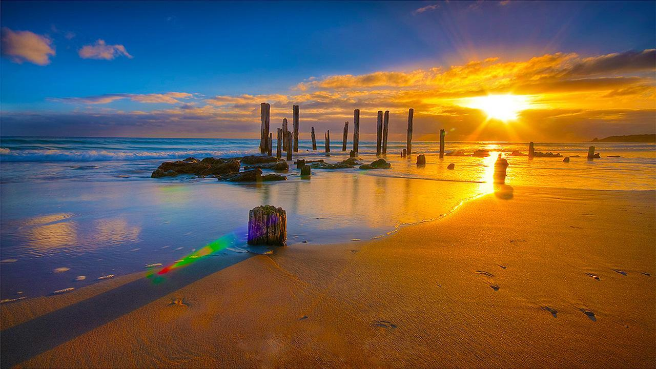 Sunset Live Wallpaper 4 تصوير الشاشة