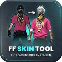 FFF FF Skin Tool, Elite pass Bundles, Emote, skin on APKTom