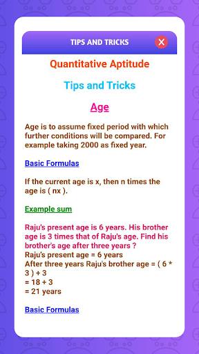 Aptitude Test and Preparation, Tricks & Practice screenshot 7