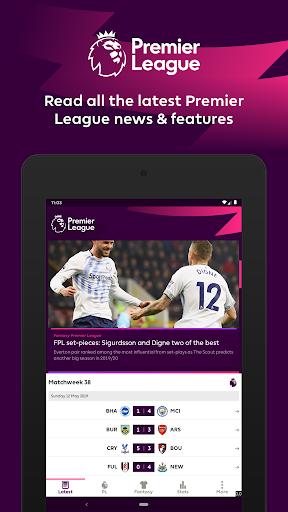Premier League - Official App screenshot 7