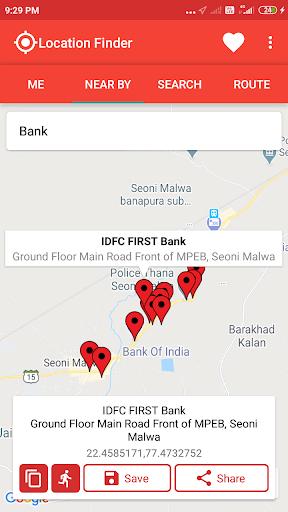 Location Finder 3 تصوير الشاشة