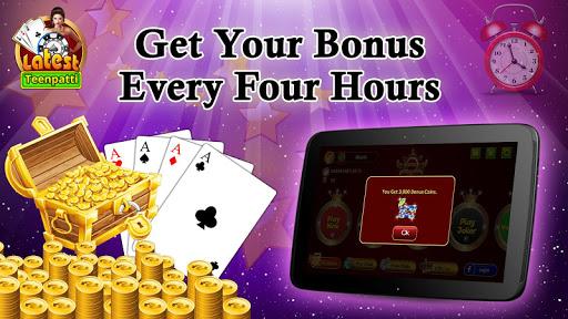 Latest Teen Patti - Free Online Indian Poker Game 6 تصوير الشاشة