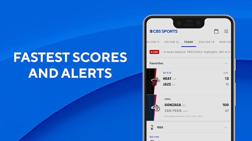CBS Sports App - Scores, News, Stats & Watch Live 3 تصوير الشاشة