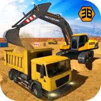 Heavy Excavator Crane - City Construction Sim 2020 on APKTom