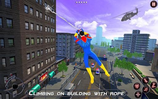 Rope Amazing Hero Crime City Simulator screenshot 9