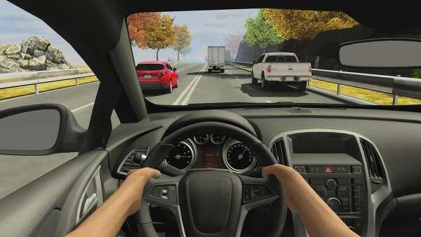 Racing in Car 2 скриншот 6