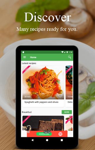Vegetarian and vegan recipes screenshot 9