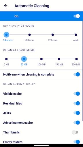 AVG Cleaner – Junk Cleaner, Memory & RAM Booster screenshot 8