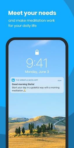 The Mindfulness App: relax, calm, focus and sleep 7 تصوير الشاشة