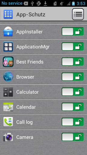 App-Sperre screenshot 3