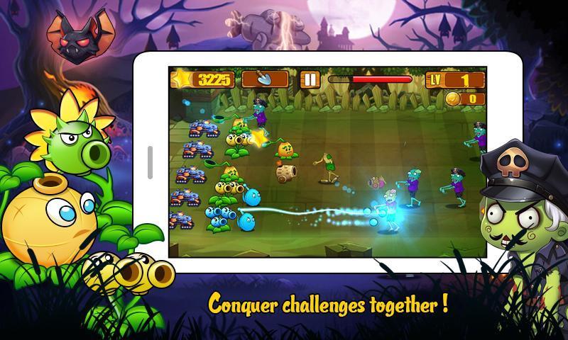 Angry Plants Wars screenshot 4