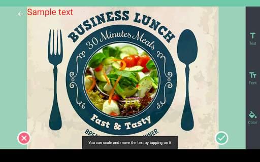 Food photo frames screenshot 12