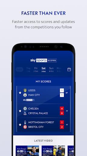 Sky Sports Scores 3 تصوير الشاشة