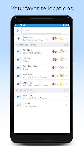 Foreca Weather screenshot 5