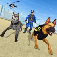 Police Dog VS Wild Wolf Attack Survival City on APKTom