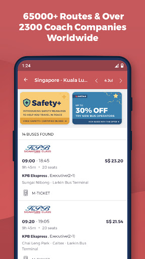 redBus - Online Bus Tickets and Ferry Booking App screenshot 3