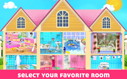 House Cleaning - Home Cleanup Girls Game screenshot 15