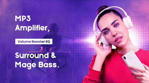 Volume Booster EQ - Louder & Mega Bass, Equalizer screenshot 1