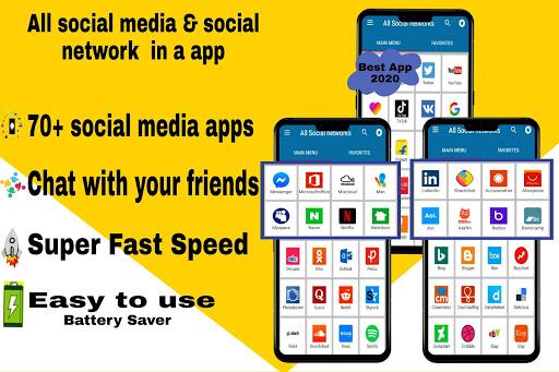 All social media apps 2020 1 تصوير الشاشة