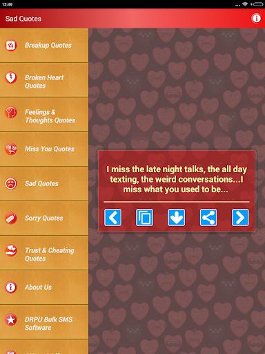 Sad & Broken Heart Pain Status screenshot 15