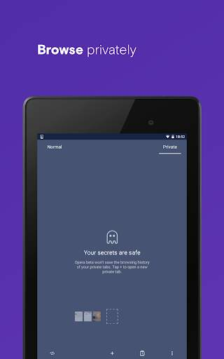 Opera browser with free VPN screenshot 15