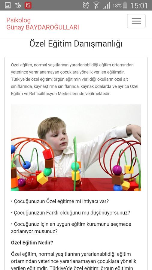 Psikolog Günay BAYDAROĞULLARI screenshot 4
