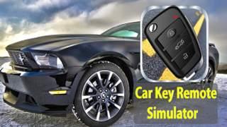مفتاح السيارة عن بعد قفل محاكي 1 تصوير الشاشة