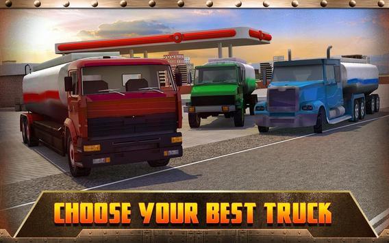 Oil Transport Truck 2016 screenshot 8