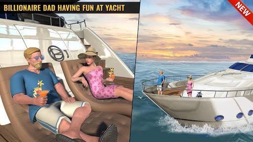 Billionaire Dad Luxury Life Virtual Family Games screenshot 1
