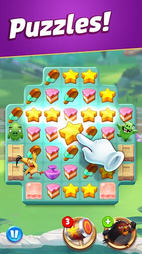 Angry Birds Match 3 3 تصوير الشاشة
