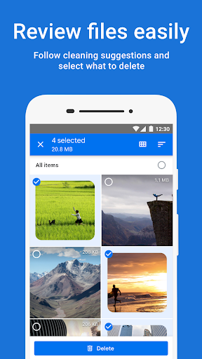 Files by Google: Clean up space on your phone screenshot 2