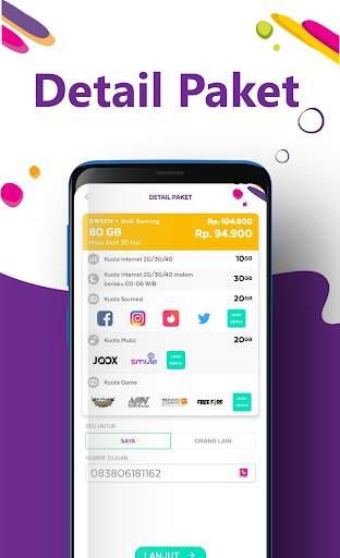 AXISNET – Cek & Beli Kuota, Promo Paket Internet screenshot 7